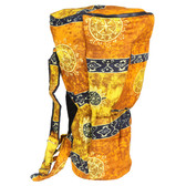 Celestial Gold Djembe Backpack Bag XXL