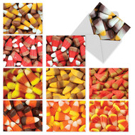 Happy Halloween Candy Corn Greeting Cards