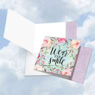 SQUARE WORDS OF ENCOURAGEMENT SMILE