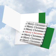 SQUARE HOLIDAY WORDS IN MOTION - MERRY CHRISTMAS - A