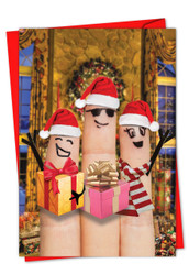 CHRISTMAS FINGERS CAROLERS - G