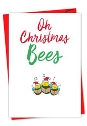 IT WAS THE PUN BEFORE CHRISTMAS - BEES - B