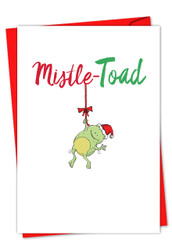 IT WAS THE PUN BEFORE CHRISTMAS - FROG - E