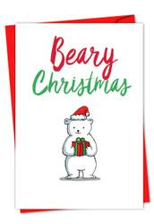 IT WAS THE PUN BEFORE CHRISTMAS - POLAR BEAR - F