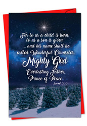 CHRISTMAS QUOTES ISA 9:6 - C