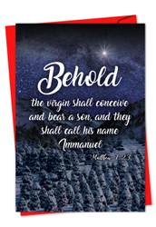 CHRISTMAS QUOTES MATT 1:23 - D
