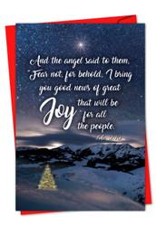 CHRISTMAS QUOTES LUKE 2:10 - E