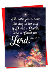 CHRISTMAS QUOTES LUKE 2:11 - F
