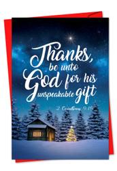 CHRISTMAS QUOTES 2 COR 9:15 - J