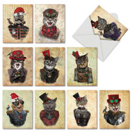 CHRISTMAS STEAMPUNK CATS