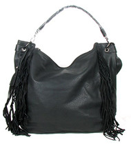 Black Fringe Tassle Fashion Purse