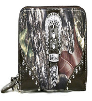 Western Brown Camouflage Buckle Wristlet