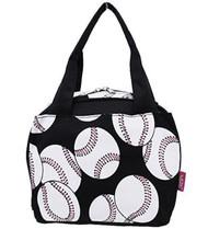 Insulated Lunch Bag (Softball-White)