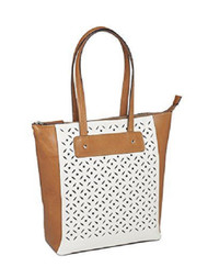 GTM-66 American Cowhide Vertical Shopper Concealment Purse