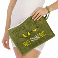 Knitting Factory Water Proof Wet Bikini Bag Selection (Green)