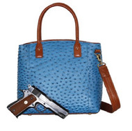 GTM-51 Blue Town Tote Concealment Purse