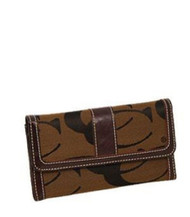 Brown Signature Fashion Wallet