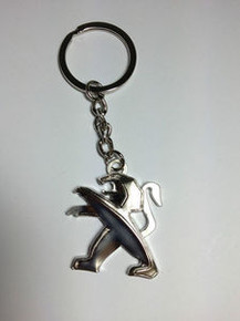 PEUGEOT 3D (P2) Key Chain Ring