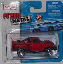 Maisto Fresh Metal Die-Cast Vehicles ~ Off Road Warrior Pickup Truck (Red)