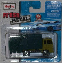 Maisto Fresh Metal Die-Cast Vehicles ~ Garbage Disposal Truck