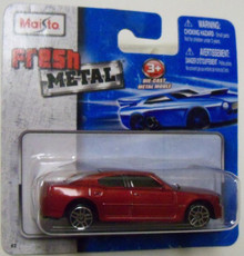 Maisto Fresh Metal Die-Cast Vehicles ~ 2006 Dodge Charger R/T (Red)