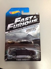 Hot Wheels Fast & Furious Fast 5 Official Movie Merchandise '11 Dodge Charger R/T 7/8