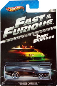 Hot Wheels The Fast and the Furious Official Movie Merchandise Limited Edition '70 Dodge Charger R/T 1/8
