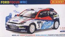 Hornby 1/32 Ford Focus #5 WRC Ford Rallye Sport Plastic Model Kit (K2001A)