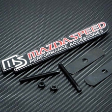 MAZDASPEED PERFORMANCE FRONT GRILLE EMBLEM - BRAND NEW - USA SELLER
