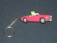 GEICO GECKO LIZARD Key Chain Ring