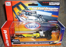 Auto World #SC253/48 NHRA Morgan Lucas Geico Top Fuel HO Electric Slot Car