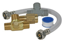 Camco 35983 Quick Turn Permanent By-Pass Kit