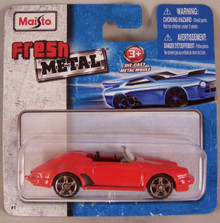 Maisto Fresh Metal Die-Cast Vehicles ~ Porsche 914 Speedster (Red)