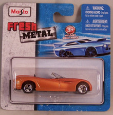 Maisto Fresh Metal Die-Cast Vehicles ~ Dodge Concept Car (Copper/Bronze)