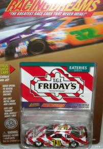 JOHNNY LIGHTNING RACING DREAMS EATERIES SERIES T.G.I. FRIDAYS 1:64 SCALE DIE-CAST VEHICLE