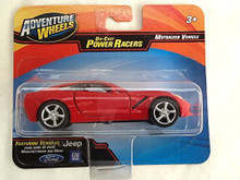 Maisto Adventure Wheels 1:47 Power Racers Chevrolet Corvette (Red)