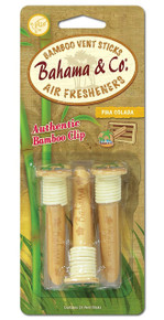 Bahama & Co. Bamboo Vent Sticks Air Freshener - Pina Colada