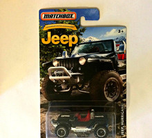 MATCHBOX JEEP ANNIVERSARY EDITION BLACK JEEP HURRICANE