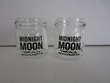 Midnight Moon Moonshine Mini Mason Jar Shot Glass (Set of 2)