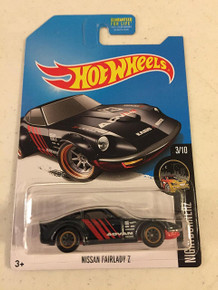 2017 Hot Wheels Super Treasure Hunt Nissan Fairlady Z (Nightburnerz Series 3/10)