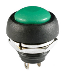 WATERPROOF GREEN PUSH BUTTON 12V MOMENTARY SWITCH BUTTON AUTO / BOAT /MOTORCYCLE