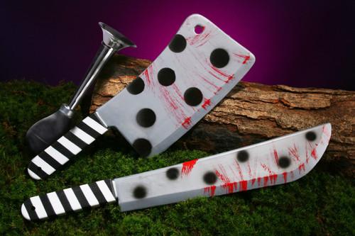 Killer Clown Weapon Cleaver