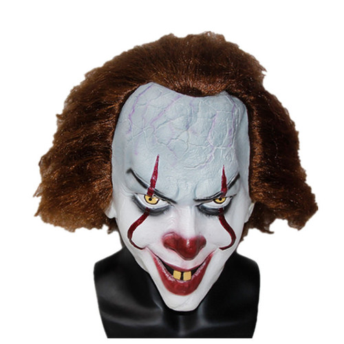 PENNYWISE DELUXE LATEX MASK