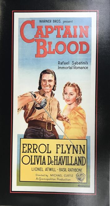 CAPTAIN BLOOD CANVAS PRINT 15X28 17113