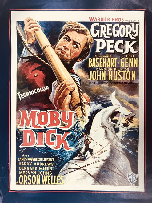MOBY DICK CANVAS PRINT 22X28 17115