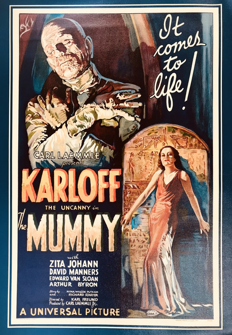 THE MUMMY CANVAS  PRINT 19X23 17116