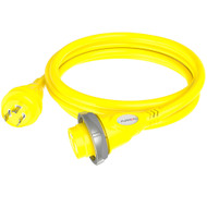 Furrion 30A 125V Marine Cordset 12ft Yellow w\/LED [F30C12-SY]