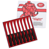 "8 Piece 8-1/2"" Steak Knife Set - Kitchen Knives Cutlery Tools Table Knives"