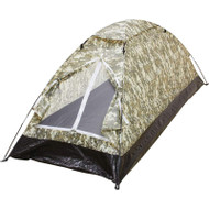 Wholesale lot of (10) Maxam Digital Camo Extra-Long 1-Person Tent