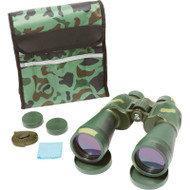 Wholesale lot of (10) Magnacraft 12x60 Camo Wide Angle Binoculars